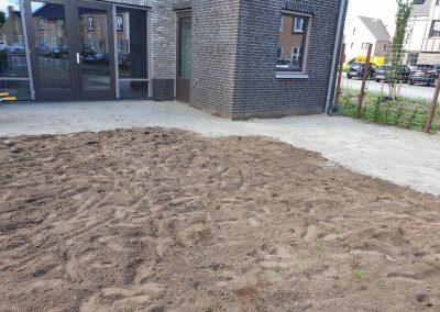 Tuinen uitgraven in Voorthuizen
