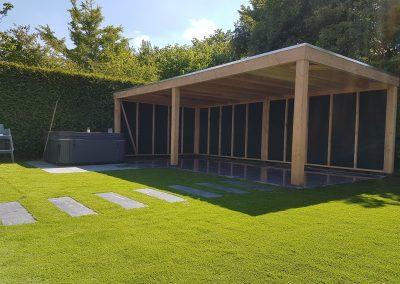 Tuin aangelegd in Zeewolde