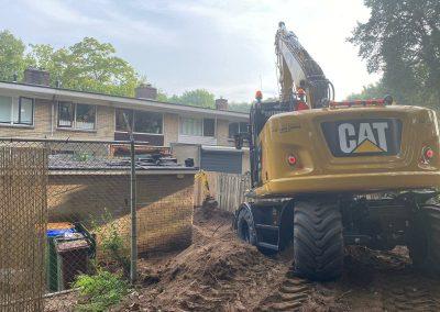 Betonwanden en betonplaten te Ede